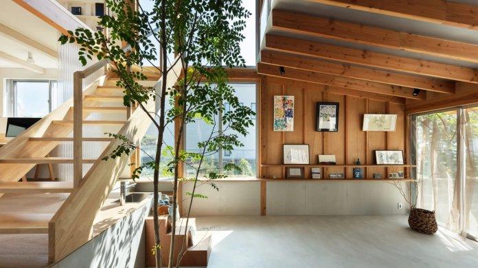 10 Phòng khách trang nhã với nội thất Nhật Bản kết hợp Scandinavia phong khach theo phong cach noi that nhat ban 6