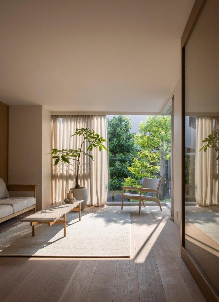 10 Phòng khách trang nhã với nội thất Nhật Bản kết hợp Scandinavia phong khach theo phong cach noi that nhat ban 7