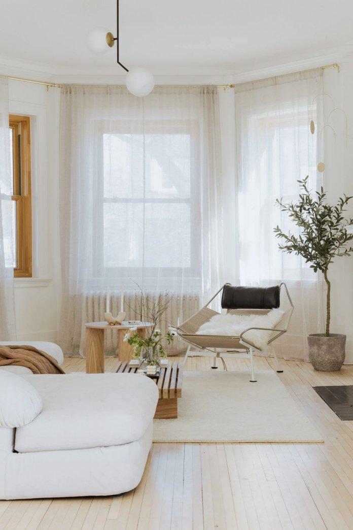 10 Phòng khách trang nhã với nội thất Nhật Bản kết hợp Scandinavia phong khach theo phong cach noi that nhat ban 9