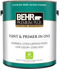 Màu màu trắng tốt nhất: Behr Premium Plus Enamel Ultra Pure White