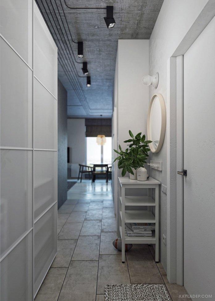 4 Mẫu thiết kế căn hộ chung cư 50m2 thông minh tiện dụng thiet ke noi that chung cu 50m2 3