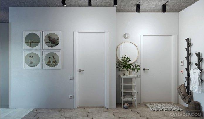 4 Mẫu thiết kế căn hộ chung cư 50m2 thông minh tiện dụng thiet ke noi that chung cu 50m2 4