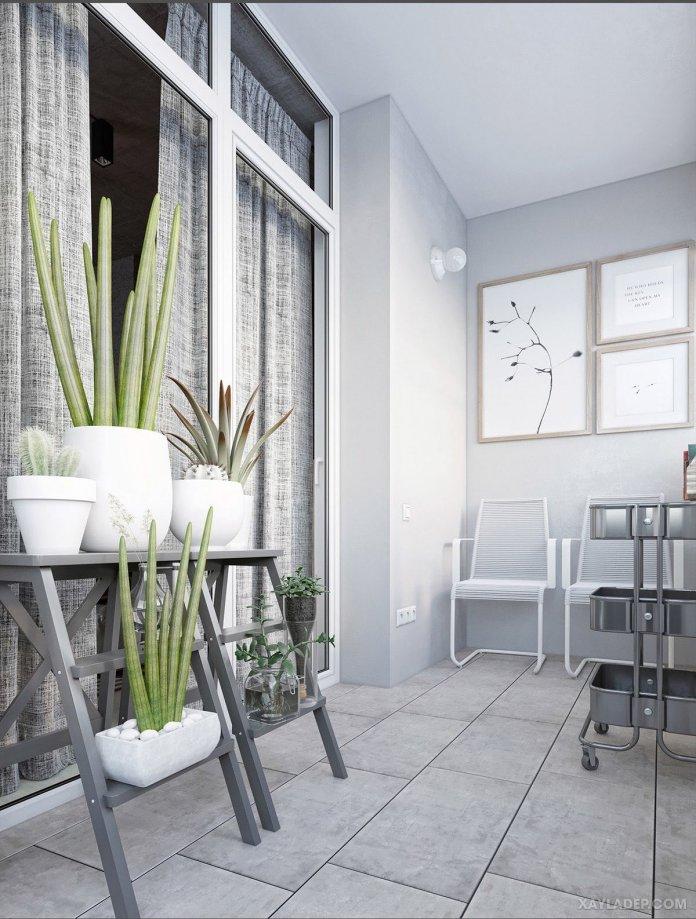 4 Mẫu thiết kế căn hộ chung cư 50m2 thông minh tiện dụng thiet ke noi that chung cu 50m2 5