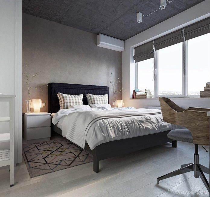 4 Mẫu thiết kế căn hộ chung cư 50m2 thông minh tiện dụng thiet ke noi that chung cu 50m2 7