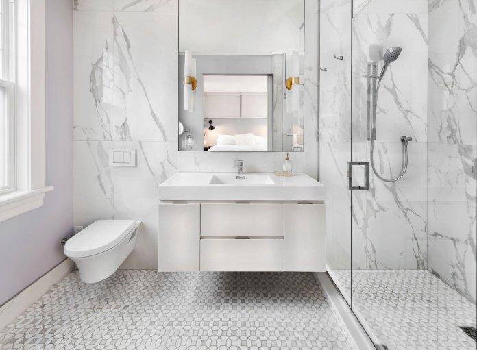 8 Ý tưởng thiết kế phòng tắm 4m2 tiết kiệm tối đa không gian thiet ke phong tam 4m2 11