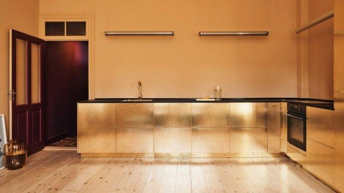 Bố trí tủ bếp hình chữ L với nhiều không gian sử dụng thiet ke tu bep hinh chu l 5