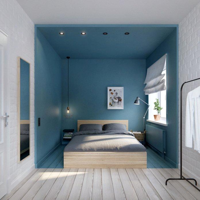 20 Ý tưởng trang trí phòng ngủ nhỏ dưới 10m2 thoải mái và ấm cúng trang tri phong ngu nho 10m2 9m2 8m2 7m2 6m2 18