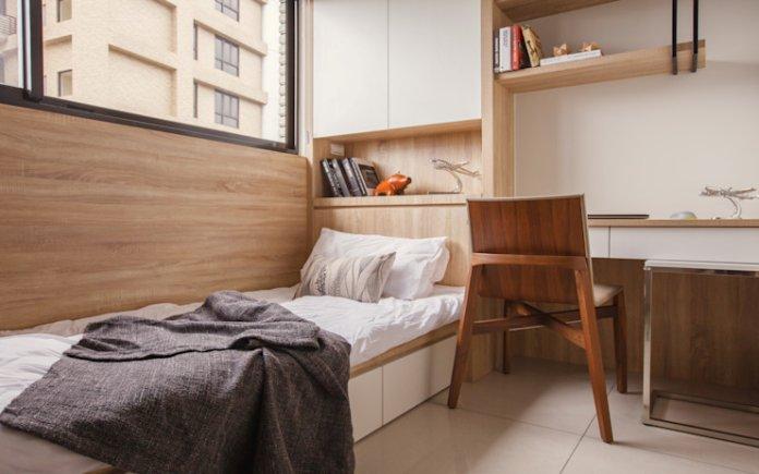 20 Ý tưởng trang trí phòng ngủ nhỏ dưới 10m2 thoải mái và ấm cúng trang tri phong ngu nho 10m2 9m2 8m2 7m2 6m2 6