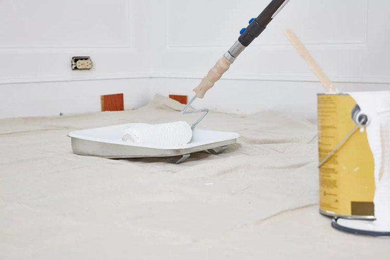Cách sơn trần nhà đẹp như một thợ sơn chuyên nghiệp cach son tran nha 5