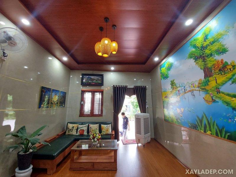 04   Một góc nhìn khác của phòng khách trong căn hộ phía trên