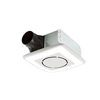 3. Tốt nhất với đèn: Quạt thông gió Broan- InVent Series 110 CFM với Ánh sáng LED xung quanh