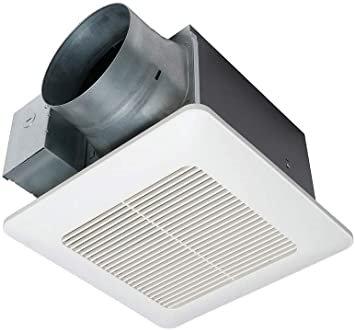 Tổng thể tốt nhất: Quạt thông gió nhà vệ sinh Panasonic WhisperCeiling DC