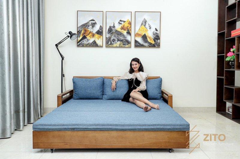 Thiết kế hiện đại - Sofa giường thông minh